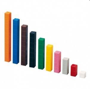 Обучающий набор Number sticks Счетные палочки Кюизенера Gigo