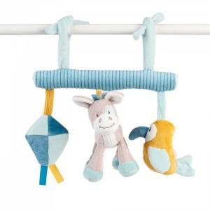 Подвесная игрушка  Tim & Tiloo Лошадка и Волк на завязках Nattou