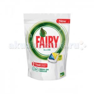 All in 1 Средство для мытья посуды в капсулах д/автоматических посудомоечных машин Лимон 48шт Fairy P&G