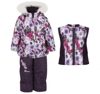 Зимний комплект для девочки Лара Alex Junis