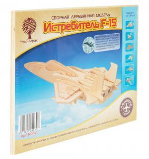 Сборная деревянная модель  Самолет F15 Wooden Toys