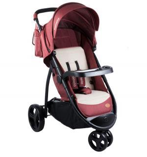 Прогулочная коляска  Liv, цвет: red Lionelo
