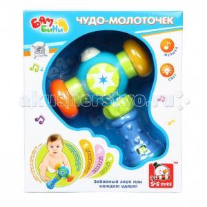 Развивающая игрушка  Чудо-молоточек на батарейках Bambini