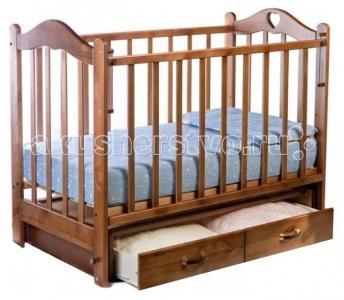 Детская кроватка  Лана №3 поперечный маятник Ведрусс