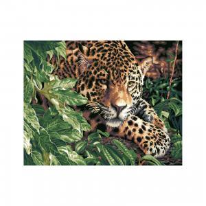 Роспись по номерам Леопард 40*50 см TUKZAR