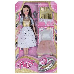 Кукла  Сверкай, как бриллиант Ася, 28 см Toys Lab. Цвет: розовый