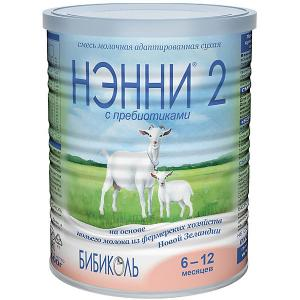 Молочная смесь на основе козьего молока  2, с 6 мес, 400 г Нэнни