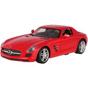 Радиоуправляемая машина  Mercedes-Benz SLS AMG 1:14, красная Rastar. Цвет: красный
