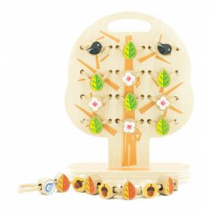 Деревянная игрушка  Дерево-шнуровка Мир деревянных игрушек