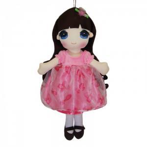 Кукла в розовом платье 50 см ABtoys