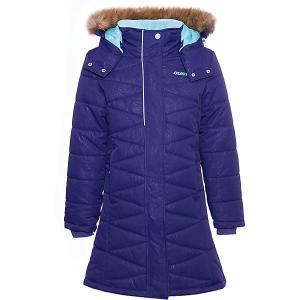 Пальто GUSTI. Цвет: лиловый