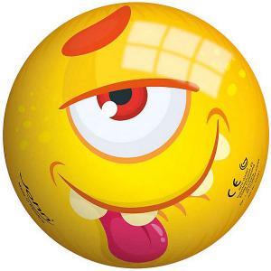 Мяч  Монстрики 13 см John. Цвет: желтый