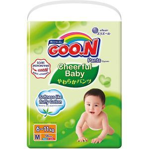 Подгузники-трусики  Cheerful Baby M 6-11 кг. 54штуки Goon