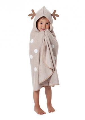 Накидка с капюшоном для малышей Олененок CuddleDry