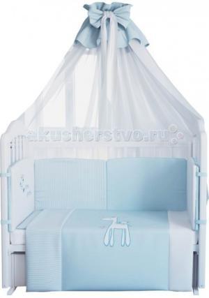 Комплект в кроватку  Жирафик 140х70 (7 предметов) Fairy