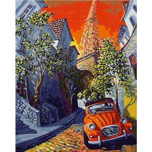 Картина по номерам  Маленький Красный Ситроен, 40х50 см Schipper. Цвет: разноцветный