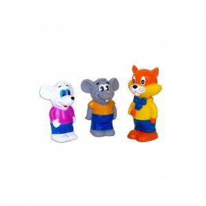Набор для ванной Кот Леопольд и 2 мышонка Играем вместе