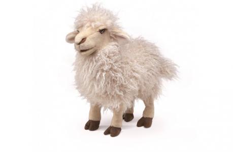 Мягкая игрушка  Белая овца 41 см Folkmanis