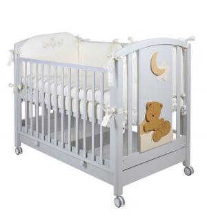 Кровать детская  Babi, цвет: белая ночь Mibb