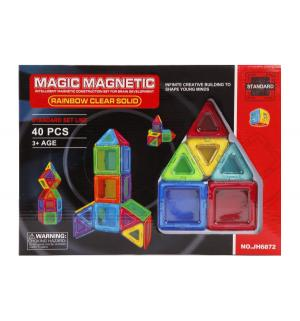 Магнитный конструктор  (40 дет.) Наша Игрушка
