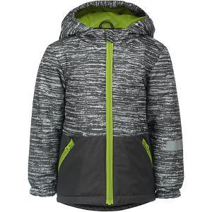 Куртка Чип JICCO BY OLDOS для мальчика. Цвет: серый