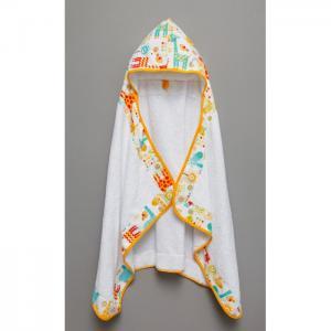 Полотенце с капюшоном Tender Hugs Жирафики 140х70 см AmaroBaby
