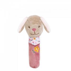 Мягкая игрушка  Cri-Cris Iris & Lali Собачка 16 см Nattou