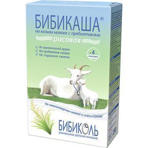 Каша  рисовая на козьем молоке с 4 мес, 6 шт по 200 г Бибиколь