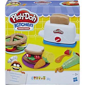 Игровой набор Play-Doh Тостер Hasbro