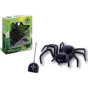 Радиоуправляемый паук  Чёрная вдова Zhorya. Цвет: черный