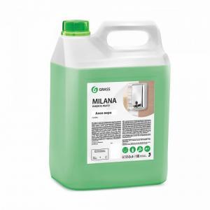 Жидкое крем-мыло Milana алоэ вера 5 кг Grass