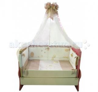 Комплект в кроватку  Птичка (7 предметов) Селена (Сдобина)