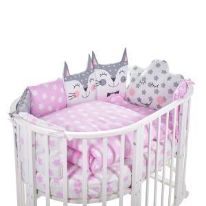 Комплект постельного белья  Gioia Rosa, цвет: розовый 5 предметов наволочка 60 х 40 см Sweet Baby