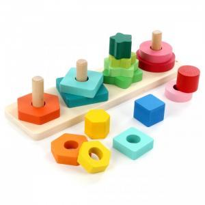 Деревянная игрушка  Сортер Цветные фигуры 89411 Фабрика фантазий