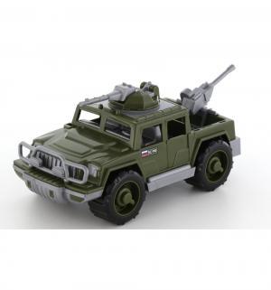 Машинка  Защитник военный с 2-мя пулеметами Полесье