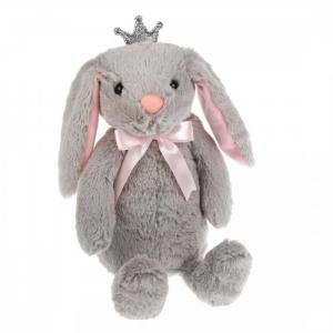 Мягкая игрушка  Зайка Ушки хлопушки 23 см Fluffy Family