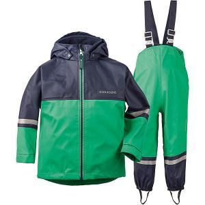 Комплект Didriksons Waterman: куртка и полукомбинезон DIDRIKSONS1913. Цвет: зеленый