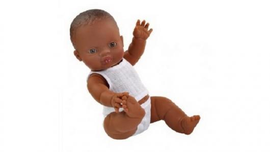 Кукла мулатка Горди в нижнем белье 34 см Paola Reina