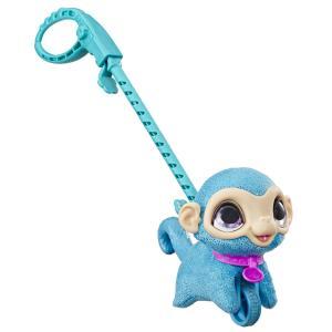 Интерактивная мягкая игрушка  Питомец на поводке Обезьяна цвет: голубой FurReal Friends