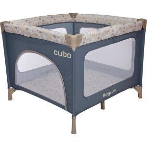 Манеж  Cubo, синий Baby Care. Цвет: синий