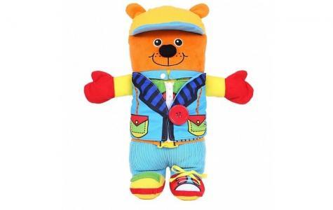 Развивающая игрушка  Медвежонок Ларри Biba Toys