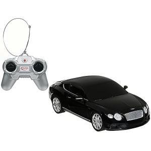Радиоуправляемая машина  Bentley Continental GT speed 1:24, чёрная Rastar. Цвет: черный