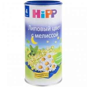 Чай  липовый цвет с мелиссой, 200 г, 1 шт Hipp