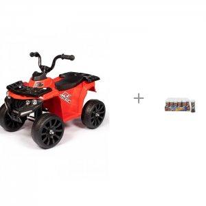 Электромобиль  Электроквадроцикл O777MM и 1 Toy Мыльные пузыри Hot Wheels 50 мл Barty