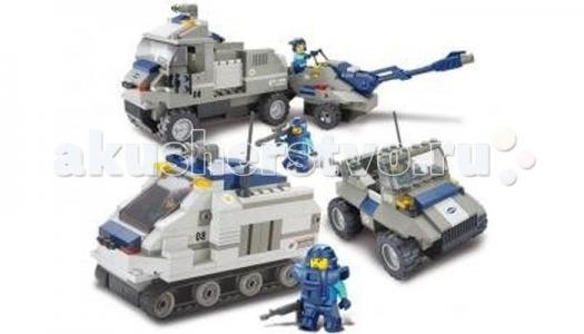 Конструктор  Военный спецназ BOX M38-B0208R (467 элементов) Sluban