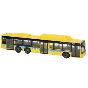 Коллекционная машина  Автобус желто-черный 13 см Majorette