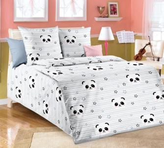Постельное белье  Panda 160х80 см (3 предмета) Forest