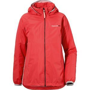 Куртка VIVID  для девочки DIDRIKSONS1913. Цвет: оранжевый