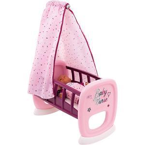Колыбель для пупса  Baby Nurse Smoby. Цвет: фиолетово-розовый