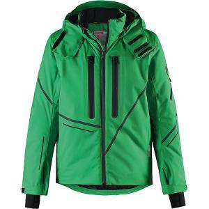 Куртка Torngat Reima. Цвет: зеленый